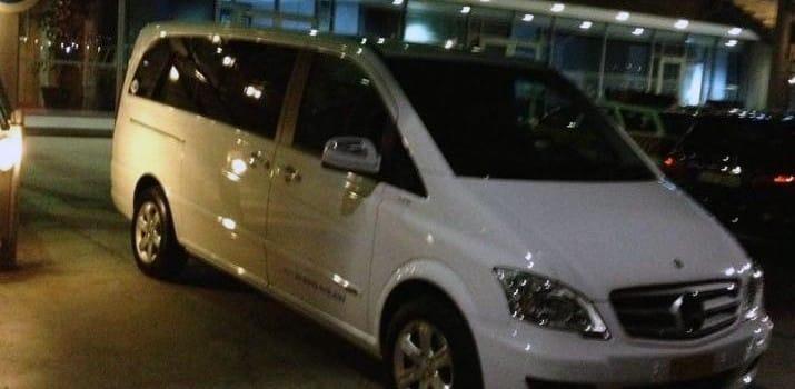 vip transfers thessaloniki taxi van