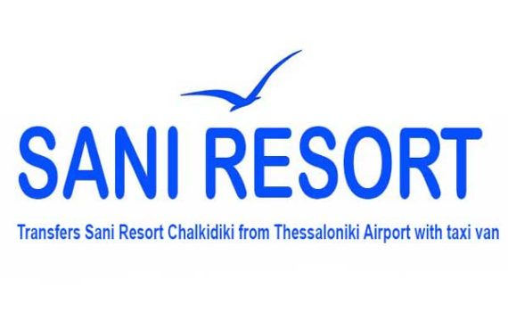 Transfers Sani Resort Chalkidiki from Thessaloniki Airport with taxi van